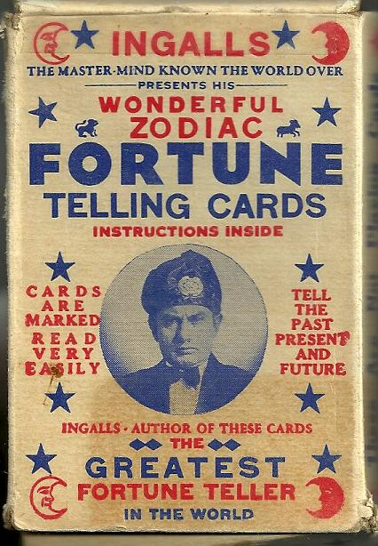 Very best name Fortune Telling Cards (6) IT91